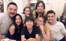 Vĩnh Thụy luôn sát bên Hoàng Thùy Linh trong tiệc sinh nhật
