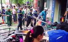 Hà Nội: Cháy nhà 5 tầng ở khu giãn dân Mỗ Lao, 3 người bị thương