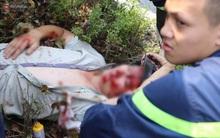 Cảnh sát PCCC dùng xe cứu hỏa đưa nam thanh niên gặp nạn giữa đường đi cấp cứu