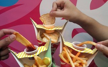 """Thổi bay nắng hè cùng sự kiện """"Cơn bão khoai tây Surf N'Fries giá 9K"""""""