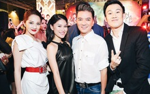 Ngọc Thanh Tâm nổi bật giữa dàn sao Việt đi xem phim