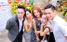 Thanh Vân Hugo vàdàn MC của VTV rạng rỡ dự khai trương Tấm Cám Nails&Make up