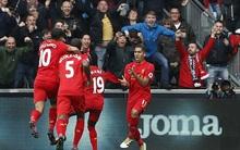 Ngược dòng hạ Swansea, Liverpool tạm đánh chiếm ngôi nhì bảng