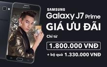 Chỉ 1,8 triệu đồng, sở hữu ngay Galaxy J7 Prime kèm gói quà 1,3 triệu đồng