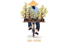 """Bộ tranh """"Sài Gòn sau vai"""": Khi Sài Gòn thu bé lại chỉ bằng vài bờ vai!"""