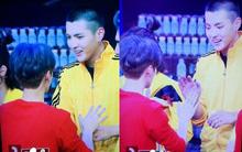 Fan phát sốt trước hình ảnh Luhan và Ngô Diệc Phàm tay nắm tay khi tái ngộ