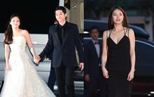 Cặp đôi Song - Song nắm tay tình tứ, Suzy khoe vòng 1 đẫy đà trên thảm đỏ Baeksang 2016