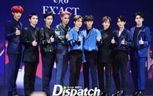 9 chàng trai EXO điển trai, đùa nghịch nhắng nhít trong họp báo