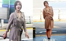 Suzy lấp ló đôi gò bồng đào quyến rũ tại sân bay