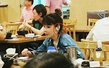 Xuất hiện với khuôn mặt sưng vù, nhưng tất cả những gì fan quan tâm là miếng dán chằng chịt trên tai Park Bom