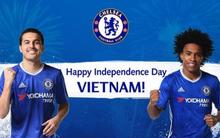 Borussia Dortmund, Chelsea chúc mừng Quốc khánh Việt Nam