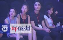 Những hình ảnh đầu tiên về sân khấu và top 18 đang tập Chung kết Next Top Model!