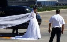 Cô dâu thuê trực thăng vì muốn gây bất ngờ cho chú rể vậy nhưng đám cưới bỗng chốc tan tành...