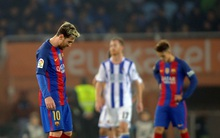 Messi ghi bàn giải cứu, Barca vẫn kém Real Madrid tới 6 điểm