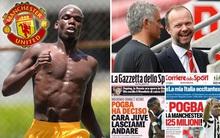 """Juventus """"chảnh"""", 100 triệu bảng không bán Pogba cho MU"""