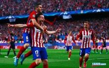 Atletico Madrid bị cầm hòa ở những giây cuối cùng