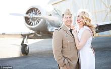 Đừng đọc ngôn tình nữa, hãy xem câu chuyện tình yêu của cặp phi công trai tài gái sắc này