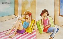 Bộ tranh: 15 điều giúp chúng ta thấu hiểu và yêu thương mẹ của mình nhiều hơn