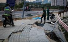 Sinh viên lo lắng vì đường sá trong khu đô thị ĐH Quốc gia TPHCM sạt lở nghiêm trọng