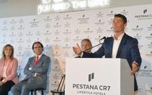 Ronaldo bảnh bao dự lễ ra mắt khách sạn triệu đô mang thương hiệu CR7