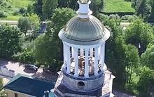 Cặp đôi không thể ngờ toàn bộ màn ân ái trên tháp chuông tu viện lại bị drone quay lại