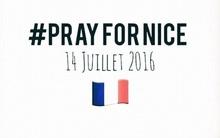 Khi Pháp tràn ngập đau thương, cả thế giới đều hashtag #PrayForNice để sát cánh cùng người dân Pháp