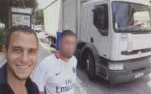 Nghi phạm khủng bố ở Pháp tươi cười chụp ảnh selfie trên chính chiếc xe tải trước khi gây án