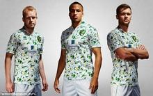 Chiêm ngưỡng bộ trang phục thi đấu bị chê giống... phân chim của đội bóng Anh