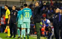 Barca bị đội bóng hạng ba cầm hòa ở Cúp Nhà vua