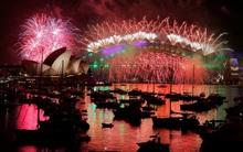 Chùm ảnh: Mãn nhãn với màn trình diễn pháo hoa rực rỡ năm mới 2017 tại Australia và New Zealand