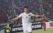 Chùm ảnh trận thắng kịch tính của tuyển Việt Nam trên sân Thuwunna