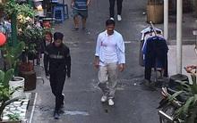 Sao TVB Quách Tấn An, Huỳnh Đức Bân, Chu Thần Lệ được fan bắt gặp quay phim tại Chợ Lớn