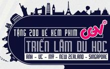 Tặng 200 vé xem phim CGV tại Triển lãm Du học Anh Úc Mỹ New Zealand và Singapore