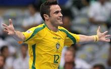Huyền thoại futsal Falcao lập hat-trick trong chiến thắng 15-3 của Brazil