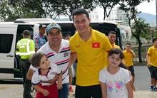Chờ gặp Nga, tuyển futsal Việt Nam đi shopping ở Colombia