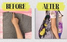 Tiết kiệm chưa bao giờ dễ đến thế với 3 cách tái chế áo cũ cực hay
