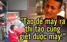 Clip vạch trần bộ mặt thật ông bố trẻ địu con nhặt rác mưu sinh ở Hà Nội