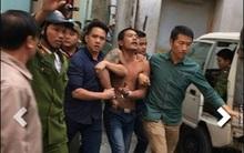 Hà Nội: Nam thanh niên nghi ngáo đá đập phá nghĩa trang, chém bị thương công an rồi cố thủ trong nhà