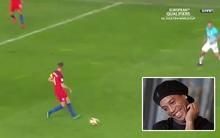 """Sao tuyển Anh học Ronaldinho chuyền bóng kiểu """"mắt lác"""", kết quả suýt báo hại đội nhà"""