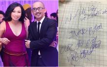 Minh Thuận tự tay viết lời yêu Phương Thanh dù tình trạng nguy kịch