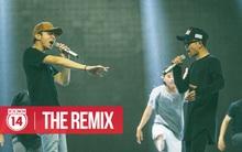 Soobin - Quang Anh đọ vẻ chất ngầu trên sân khấu Hip Hop
