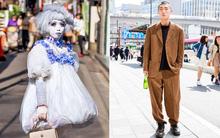 """Street style Tuần lễ thời trang Tokyo: Con gái càng quái, con trai càng """"cool"""""""