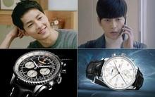 """Cuộc đua đồng hồ trăm triệu của các """"soái ca"""" trong phim Hàn"""