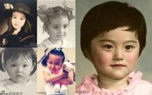 """Tuyển tập bộ ảnh """"Khi xưa ta bé"""" của 30 mỹ nhân hàng đầu Hoa ngữ"""
