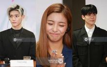 Cận cảnh nhan sắc Taeyong - Jaehyun (NCT-U) và Luna f(x) tại buổi họp báo