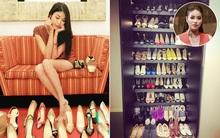 Tủ giày của sao & hot girl Việt: người thì như đại lý, kẻ to như... siêu thị!