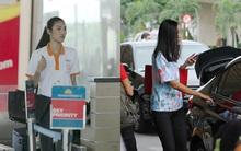 Lan Khuê, Trang Khiếu giản dị nhưng vẫn nổi bật ở sân bay Tân Sơn Nhất