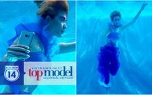 Độc quyền: Trọn bộ hình dưới nước chứng minh Kim Nhã vượt trội hơn Fung La