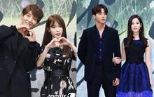 Lee Jun Ki gầy gò kém sắc, IU và Seohyun được vây quanh bởi dàn mỹ nam xứ Hàn trong sự kiện