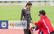 NTK Lý Quí Khánh xé váy của Fung La trước mặt các thí sinh